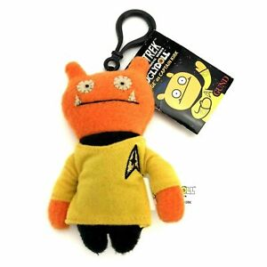 Gund Uglydoll Star Trek Plush Doll 4 1/2 in Keychain Wage as Captain Kirk