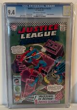 JUSTICE LEAGUE OF AMERICA #52 - CGC 9.4 - HAWKGIRL APPEARS