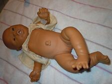 Vintage Jesmar Anatomically Correct Doll Girl Reborn w/Gown, pacifier & diaper