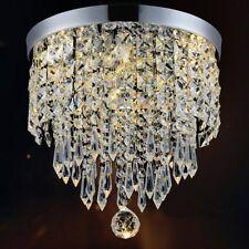 Chandelier Pendant Lamp Small Crystal Lamparas De Techo Modernas Shade 1 Light