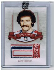 08-09 ITG Bleu Blanc et Rouge 100 Seasons Patch RED 4/5 Made! Larry ROBINSON #28