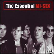 MI-SEX - ESSENTIAL CD w/BONUS Trk ~ COMPUTER GAMES~GRAFFITI CRIMES 80's POP *NEW