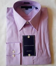 TOMMY HILFIGER DRESS SHIRT 15.5 34 35 LAVENDER REGULAR fit MSRP$65