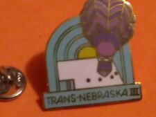 New ListingTrans Braska lll Hot air balloon Pin,S/H combined no additional charge