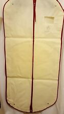"NEW Large MONCLER Beige ""Gamme Rouge"" Garment Bag/Suit Cover- 53"" x 25"" x 4.5"""