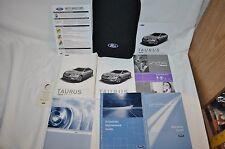 2010 TAURUS  OWNERS  BOOK MANUAL NAVIGATION DVD  SUPPLEMENT MAINTENANCE LOG +