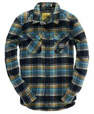 Superdry Men's Check Long Sleeve Collared Casual Shirts & Tops