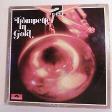 2 x 33T Heinz SCHACHTNER Discos LP 12 TROMPETTE EN GOLD - POLYDOR 2664111 RARO
