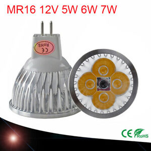 1/4/10X MR16 LED Bulbs Spotlight Downlight Replace Halogen Lamps Cool Warm White