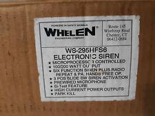 Whelen Ws-295Hfs6