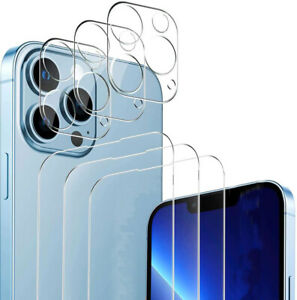3X Schutzglas (Display + Kamera)  für iPhone 13 Pro Max Mini Display Panzerfolie