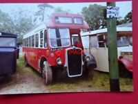 PHOTO  EASTERN COUNTIES BRISTOL L4G BUS NO LL408  REG KAH 408  AT CARLTON COALVI