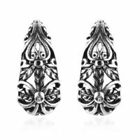 925 Silver Elegant Fashion Stylish Earrings Jewelry Gift for Women 4.22 g