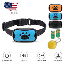 New Anti Bark Collar Stop Barking Dog Small Medium Large With Led Light 3 Shell