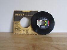 BURL IVES Call Me Mr In-Between / What You Gonna Do 45 RPM Vinyl Decca Records