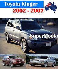 Toyota Kluger 2003 - 2007 Weather Shields Window Visors Weathershields