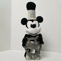 Disney Mickey Mouse 90th Special Edition Steamboat Willie Collectible Plush