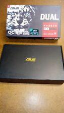 ASUS AMD Radeon RX580 8GB GDDR5 Graphics Card (DUAL-RX580-O8G)