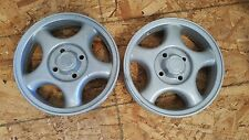 INVACARE ELECTRIC/POWER WHEELCHAIR WHEELS RIMS ONLY TORQUE RANGER STORM