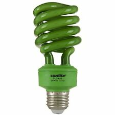 SL24/G 24W Spiral CFL CFL Light Bulb (100W Equivalent) E26 Base Green