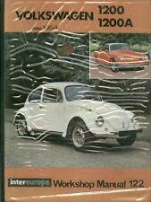 VW Beetle 1200 (incl Ovale) & Karmann Ghia 1200 1954 - 1964 riparazione manuale del proprietario