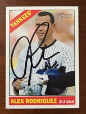 ALEX RODRIGUEZ 2014 TOPPS HERITAGE AUTOGRAPHED SIGNED AUTO BASEBALL CARD 414 YAN