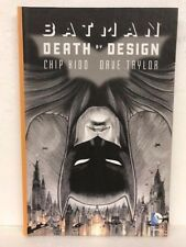 DC BATMAN DEATH BY DESIGN Hardcover HC by Chip Kidd - NEW MSRP $25