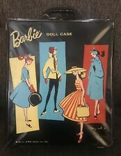 1961 Vintage Barbie Ponytail Black Carrying Case For Dolls