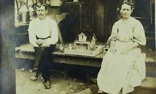 C.1910 RPPC Occupational Model Makers Postcard F101