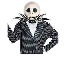 Jack Skellington Mask Adult Halloween Accessory Disney NEW