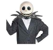 Jack Skellington Mask Adult Halloween Accessory Disney NEW
