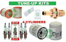TUNE UP KITS 02-06 RSX CRV ELEMENT: PCV VAL. SPARK PLUG; AIR CABIN & OIL FILTERS