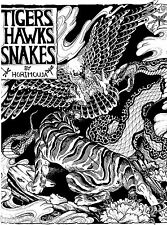 Tigers Hawks Snakes by Horimouja Japanese Tattoo Book Scan JPG Files on CD
