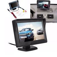 "4.3"" Monitor Screen TFT LCD PAL/NTSC For Car Rearview Reversing Camera 2019 NICE"