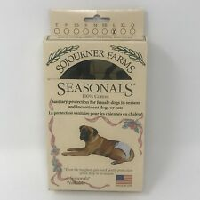 SOJOURNER FARMS Large Dog Sanitary Protection Diaper Camo Pattern