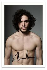 KIT HARINGTON GAME OF THRONES SIGNED PHOTO PRINT AUTOGRAPH