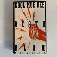 Kool Moe Dee Death Blow (Cassette) Single