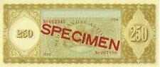 Netherlands 250 gulden 1958 specimen UNC