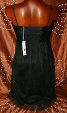 ESPRIT Neu 119€ Kleid Damen S* 36 Abendkleid  schwarz Fest Cocktailkleid Party