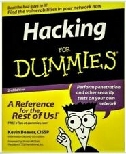 Hacking for Dummies 2nd Edition by Kevin Beaver (2007, Paperback)