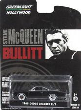 "GREENLIGHT 1968 DODGE CHARGER R/T ""BULLITT"" STEVE MCQUEEN 1/64 DIECAST  44741"