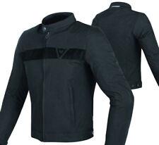 Giacca moto Dainese Stripes Tex nero jacket