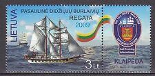 LITHUANIA  2009 **MNH SC# ( ) The Worldwide Regatta of Sailing Ships - Klaipeda