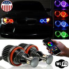 E90 E92 CREE H8 RGB Angel Eye Halo Ring Marker Bulb for BMW 1 3 M3 X5 X6 Series