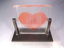 Fused Art Glass Signed Ernest Porcelli 1995
