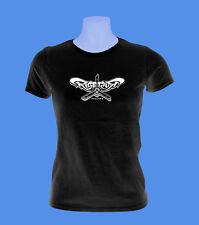 Girlie Damen Shirt Rise or Rust Hardcore Record Label Graz schwarz XS S L move