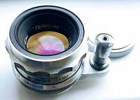 RARE Helios-44 2/58 USSR silver lens for SLR Start mount 13 blades soviet lens