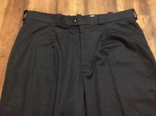 Men's Tilley Dress Style Pleated Black Pants Sz 38