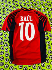 c378fe6a35f Adidas Spain Home Soccer Football Jersey World Cup 1998 Raul