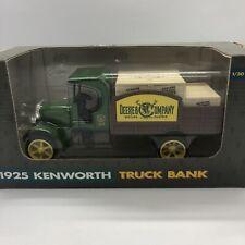 ERTL 1925 Kenworth Truck Bank John Deere & Company Die Cast Metal #5689 1:30 Box